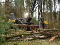 Skovmaskinen arbejder